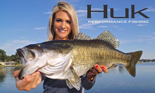 Huk performance apparel signs on as b a s s sponsor the for Fishing sponsor shirts
