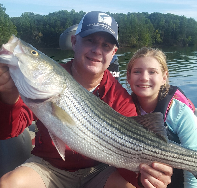 Smith mountain lake fishing report by captain dale wilson for Smith mountain lake fishing report