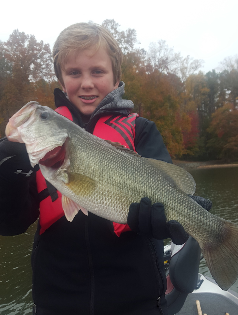 December smith mountain lake fishing report by captain for Smith mountain lake fishing report