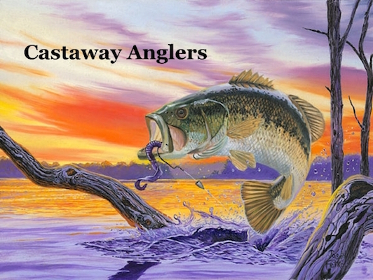 Castaway Anglers 2018 Club Tournament Schedule - Check Times For Events