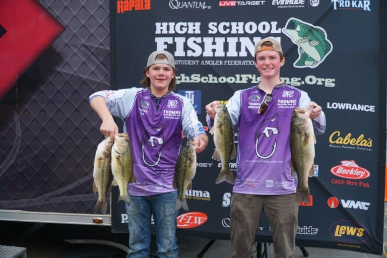 Gilmer high school wins tbf flw high school fishing for West point fishing report