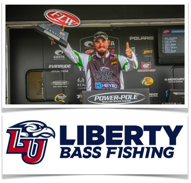 e7450826d1 Costa FLW Winner Nick Thliverous gives a look back at the biggest win of his  career   Coleman Roberts president of the Liberty University Fishing ...