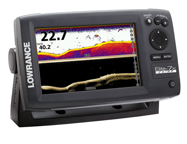lowrance launches new elite 7 elite 5 chirp series by jason sealock the bass cast. Black Bedroom Furniture Sets. Home Design Ideas